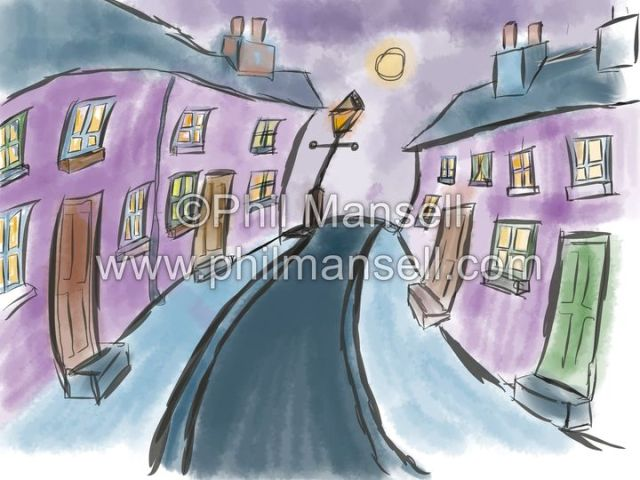 Moonlight Street by Phil Mansell