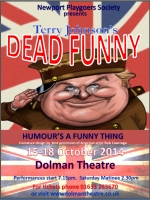 'Dead Funny' poster