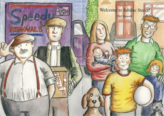Cover of Welcome to Jubilee Street by Phil Mansell
