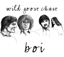 Wild Goose Chase LP by The BOI (ARTWORK BY PHIL MANSELL)