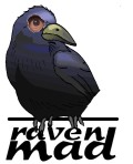Raven Mad Records Logo (ARTWORK BY PHIL MANSELL)