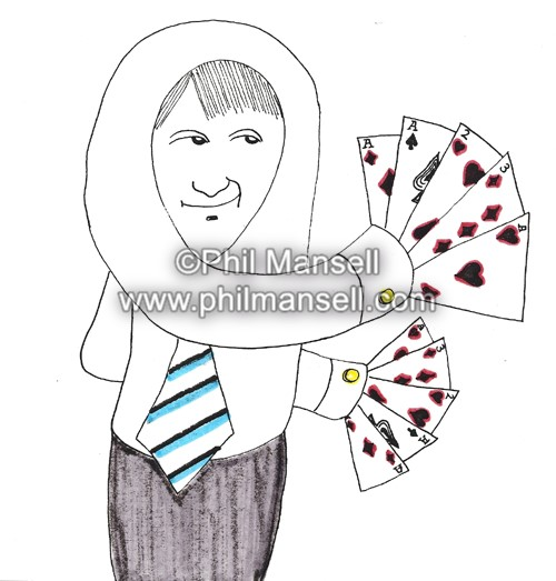 'Card Trick' by Phil Mansell